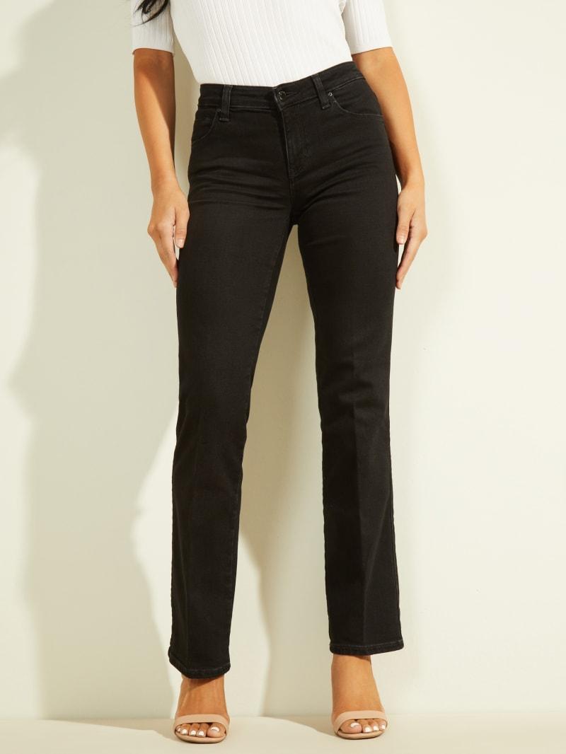 Eco Mid-Rise Sexy Straight Leg Jean