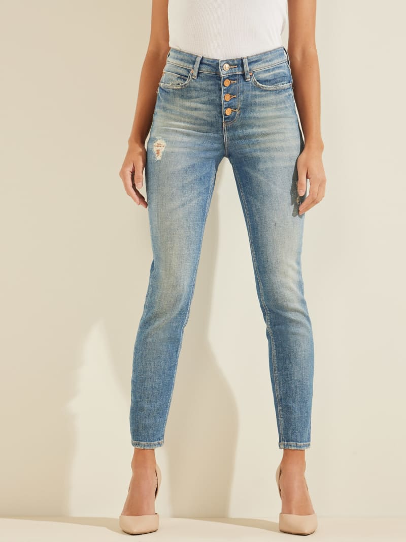 Eco 1981 Button-Fly Skinny Jeans