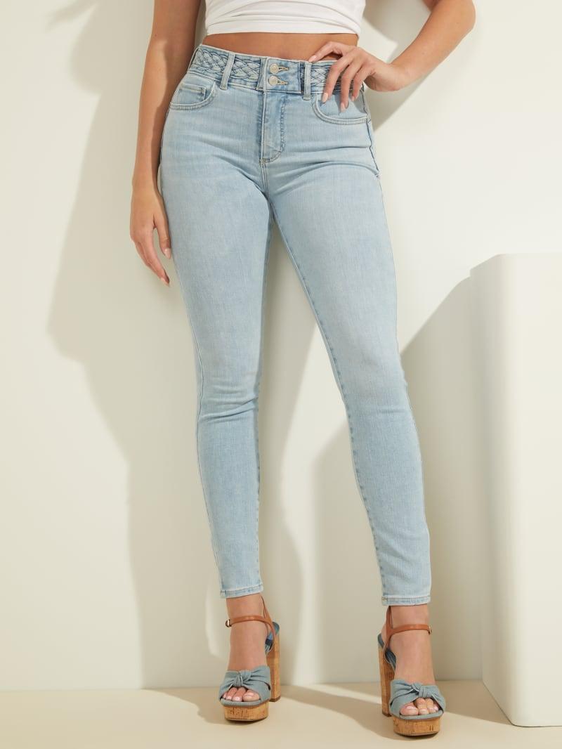 Eco Braided Shape-Up Skinny Jeans