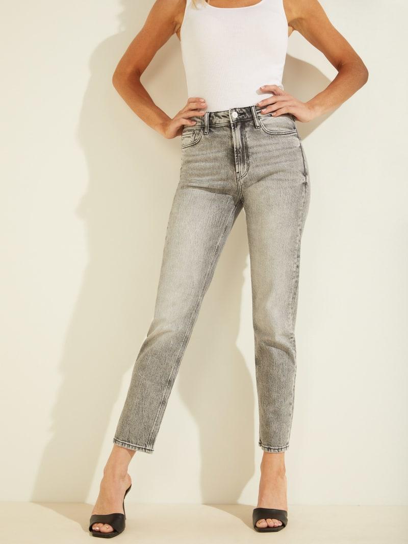 Girly High-Rise Straight Leg Jeans
