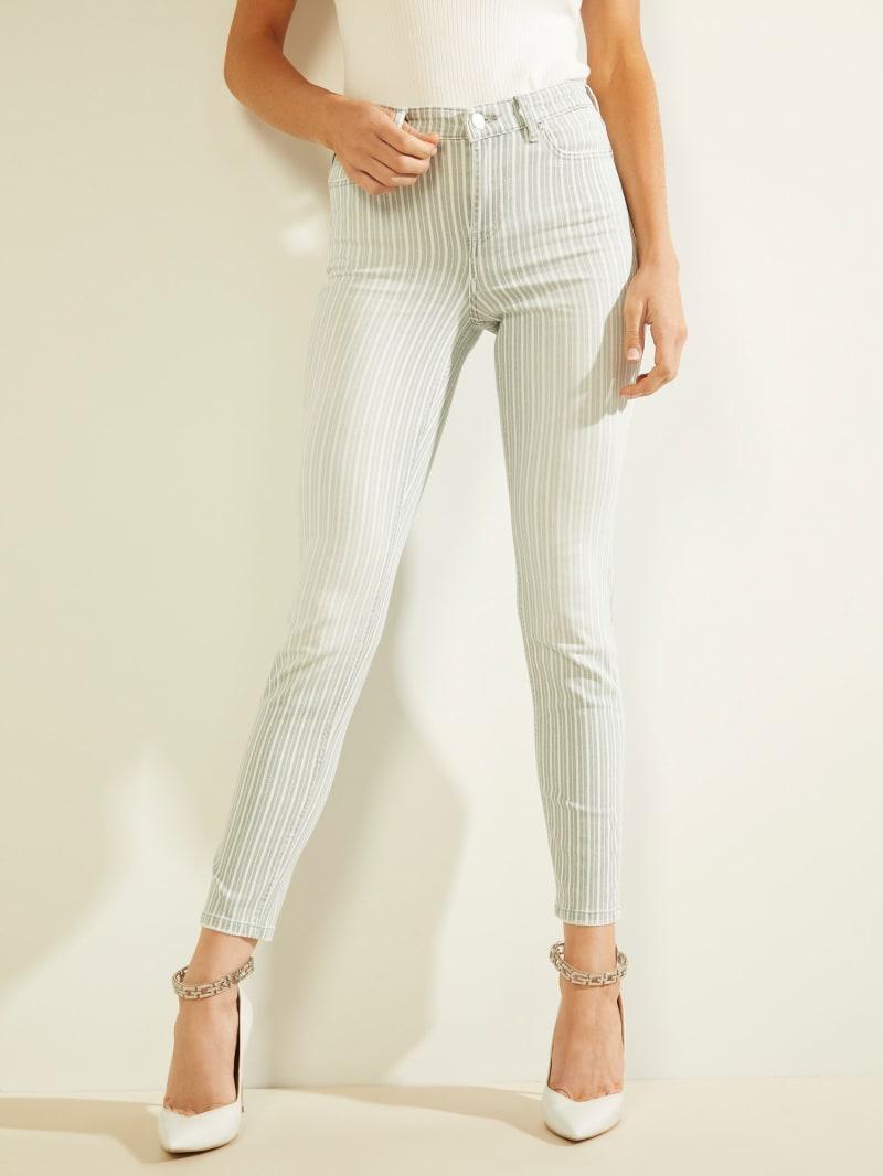 1981 Striped Skinny Jeans