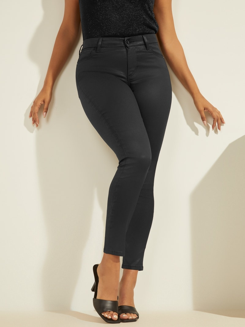 Lush Coated Skinny Jeans