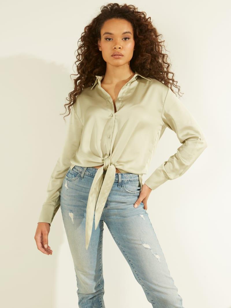 Eco Amanda Tie-Front Shirt