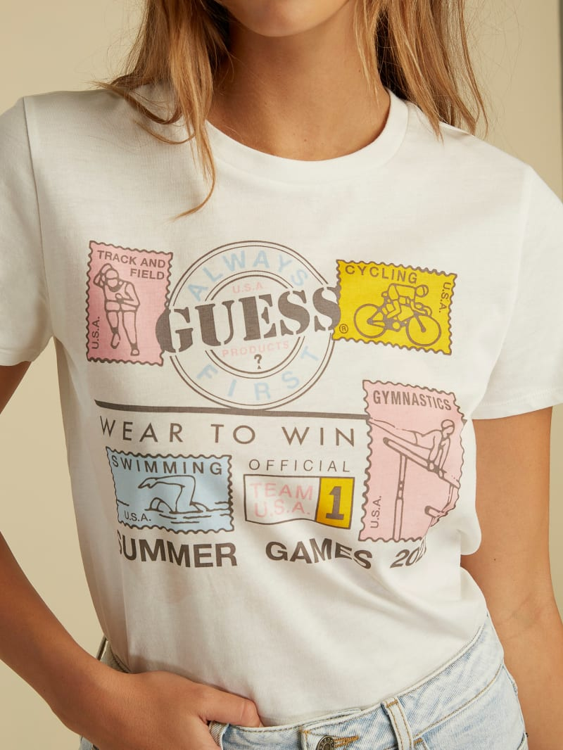 Summer Games Stamps Tee