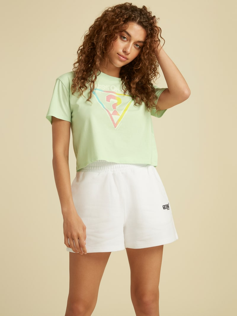 GUESS Originals Cropped Vintage Tee