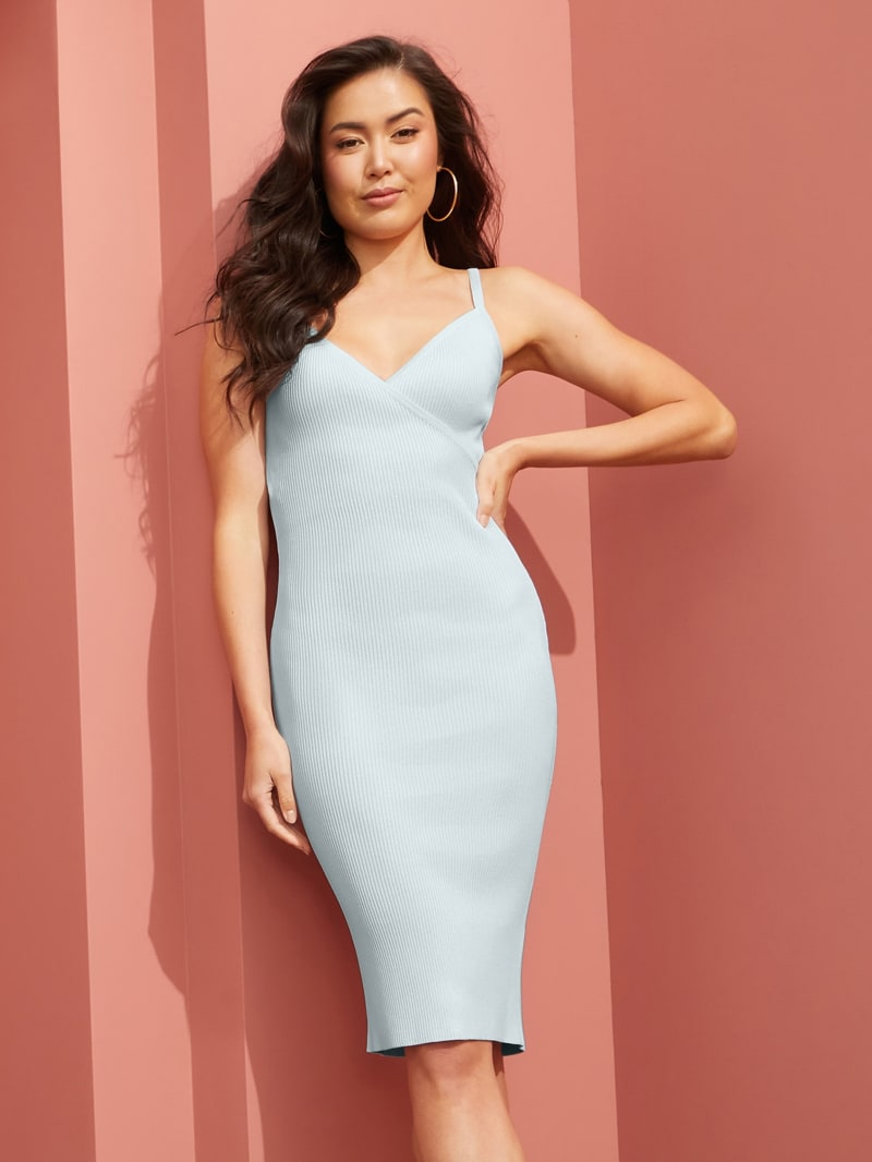 Haley Ribbed Dress