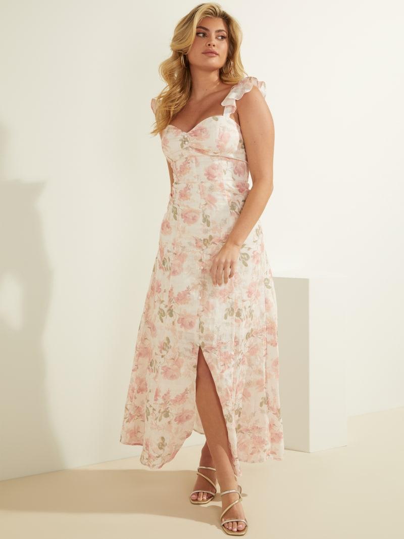 Eco Rose Maxi Dress