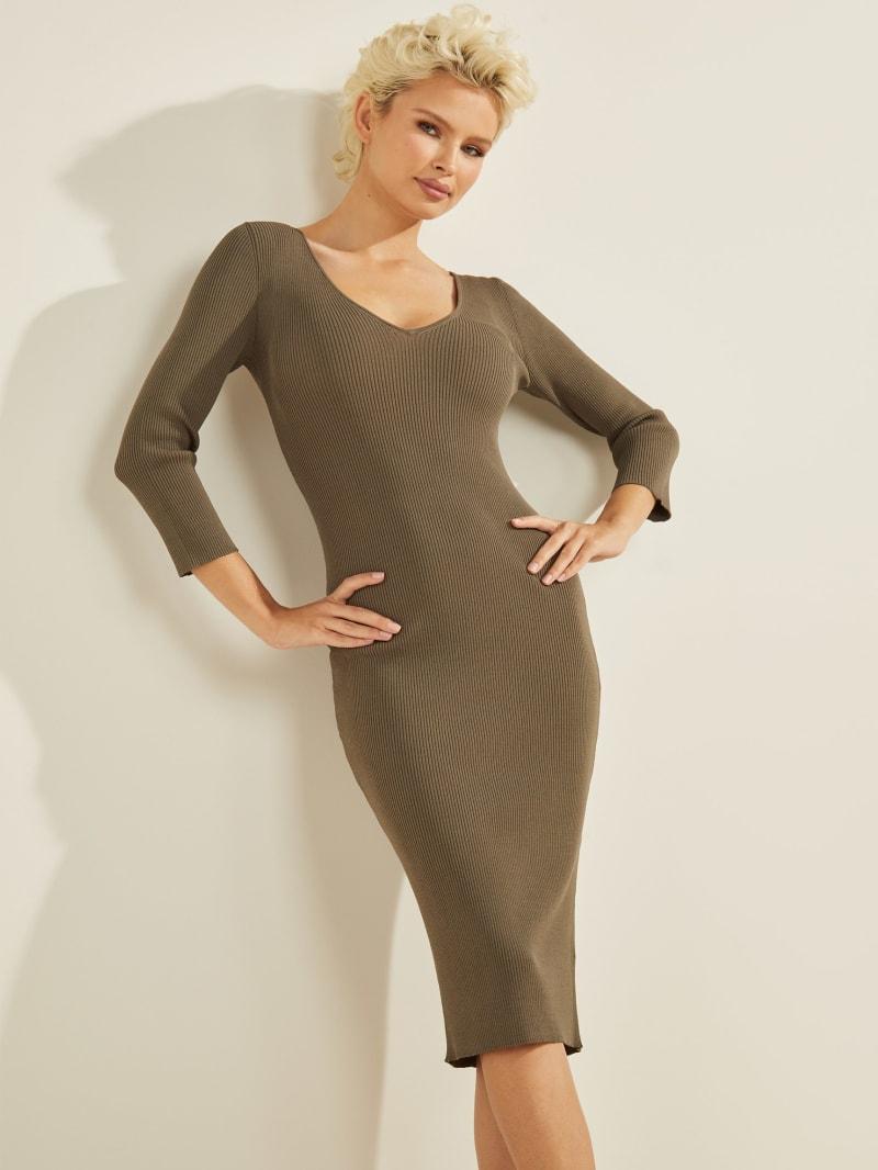 Florie Cutout Sweater Dress