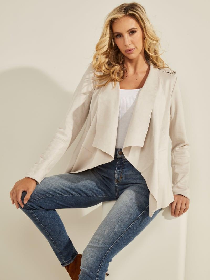 Sofia Faux-Suede Jacket
