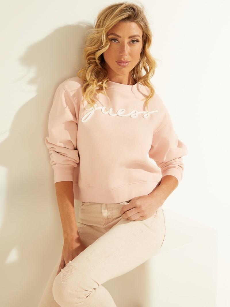 Amanda Logo Fleece Pullover