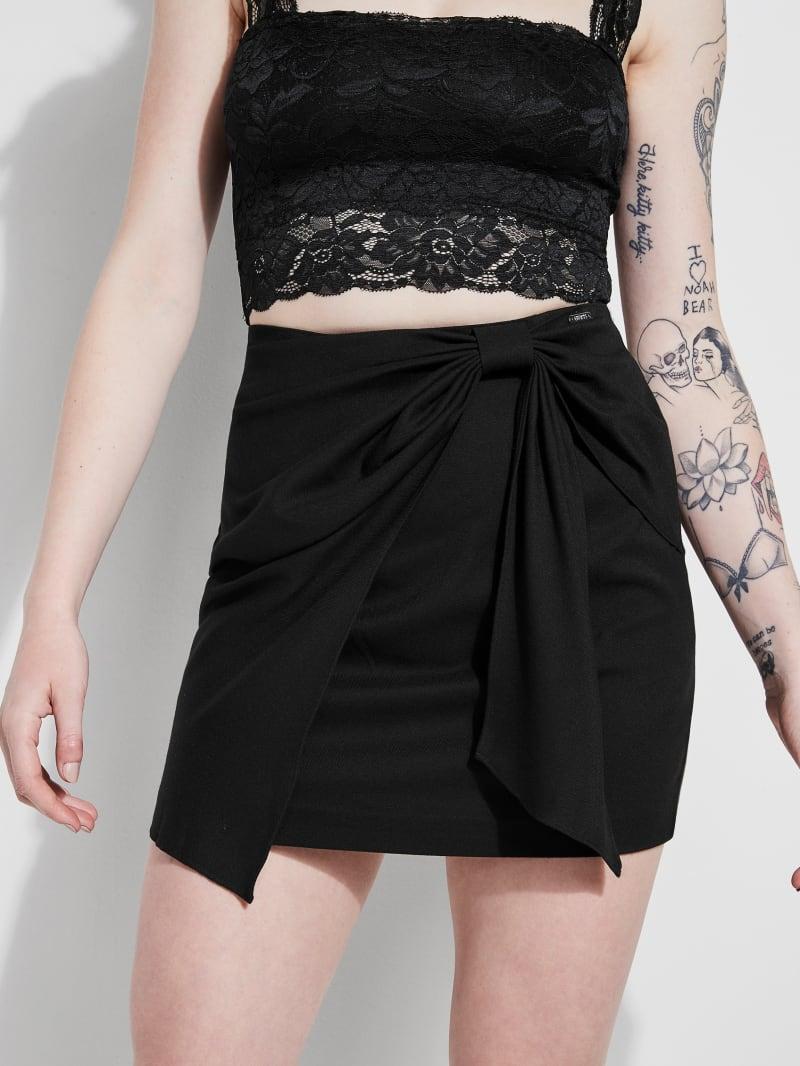 Corinna Bow Mini Skirt