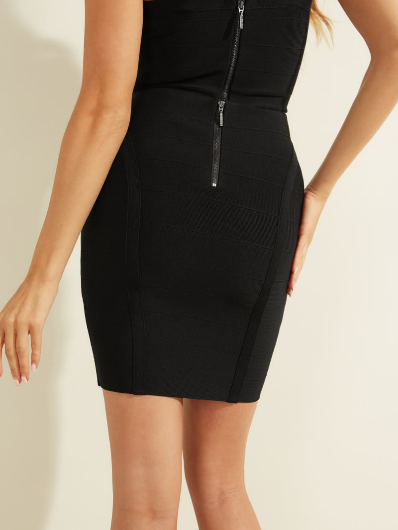 Mirage Bandage Skirt | GUESS