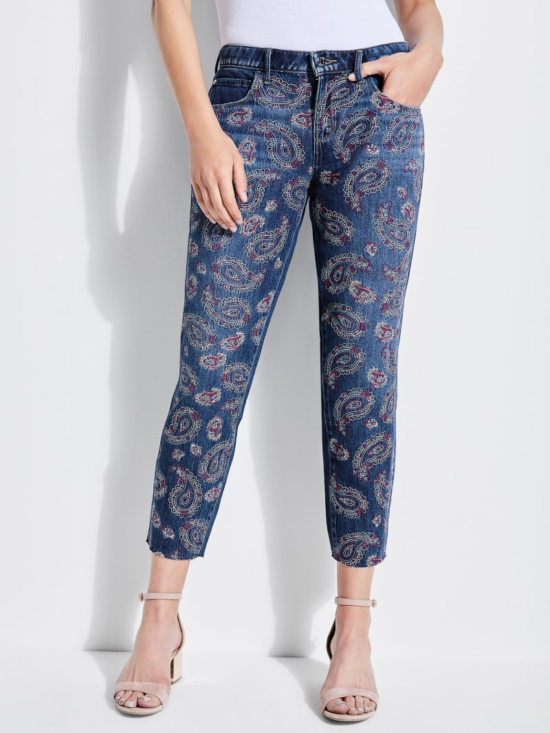 Psychedelic Paisley Tomboy Jeans