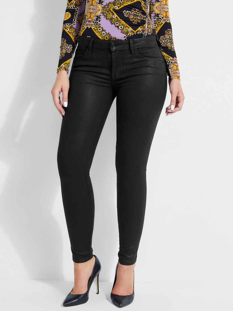 Curve X Skinny Jeans with Crystals