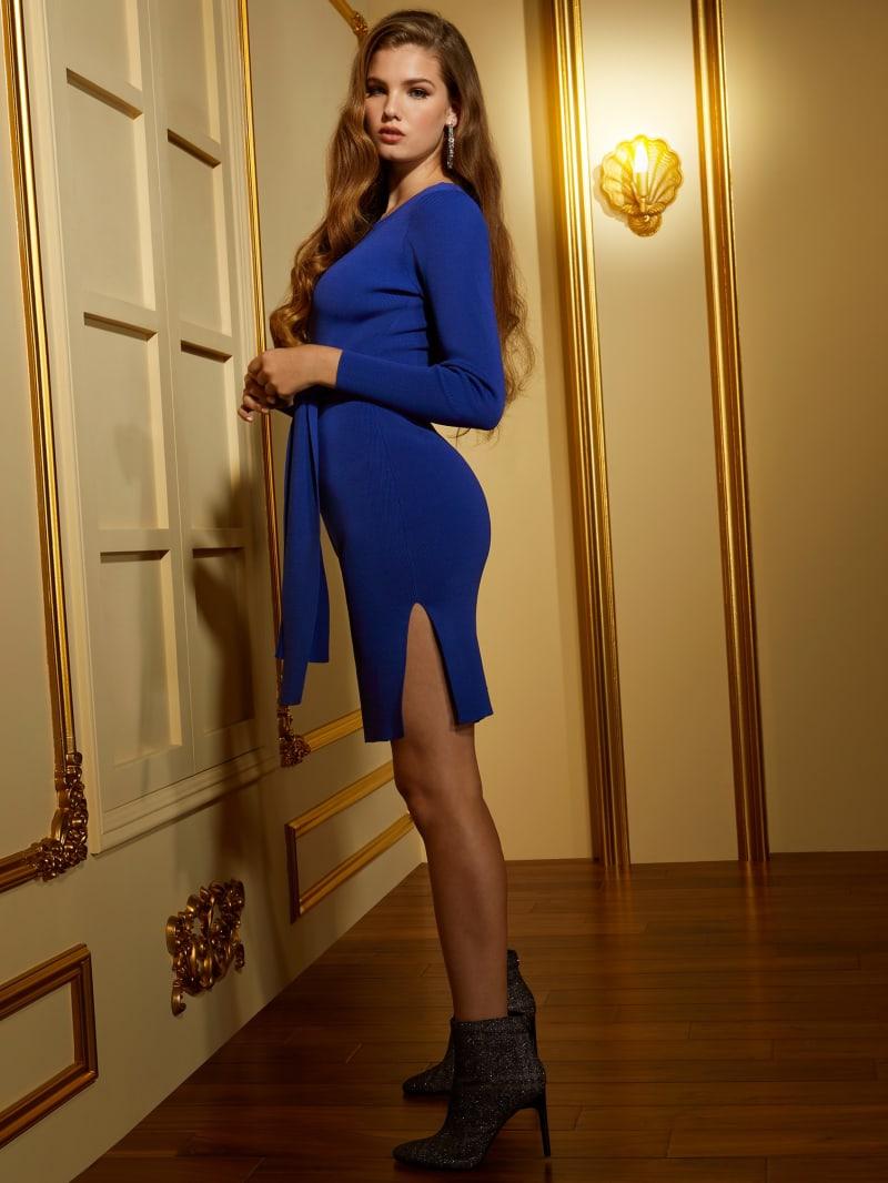 Coss Long-Sleeve Sweater Dress