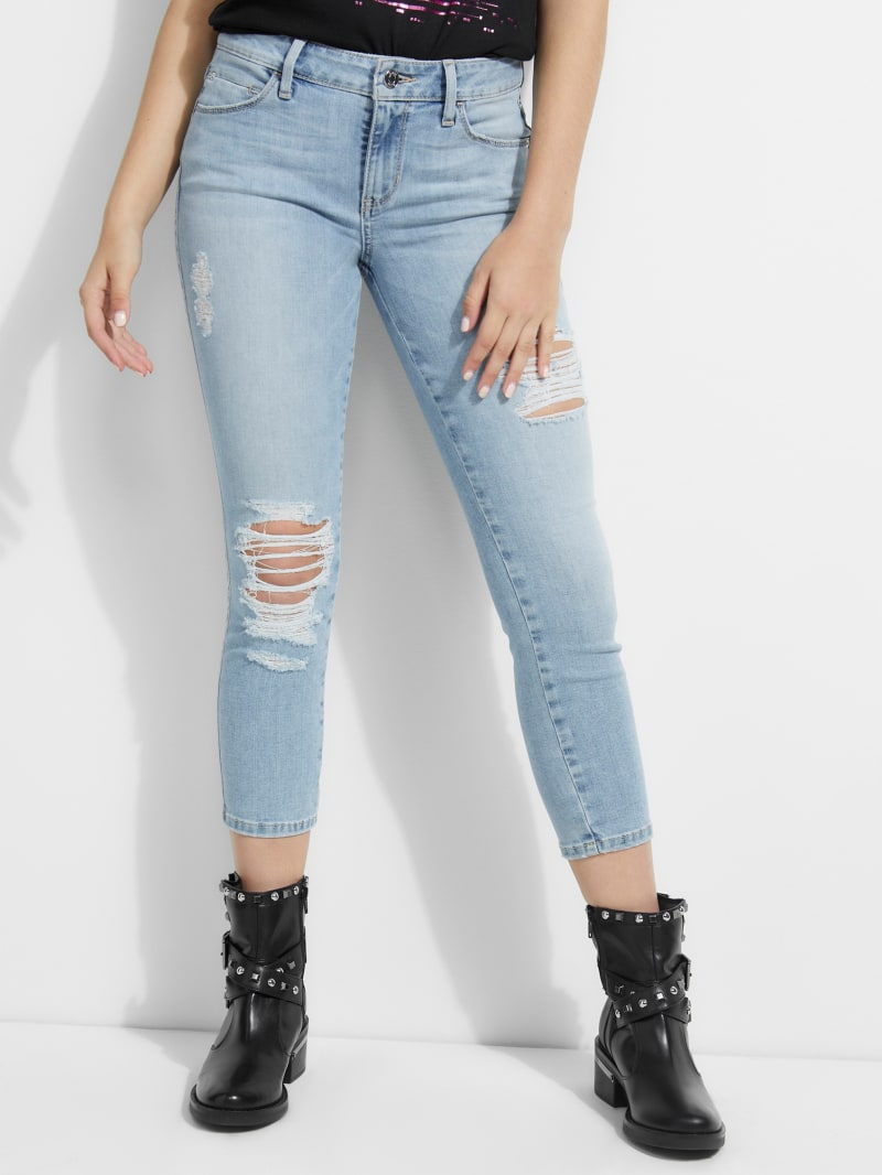 Sexy Curve Cropped Jeans