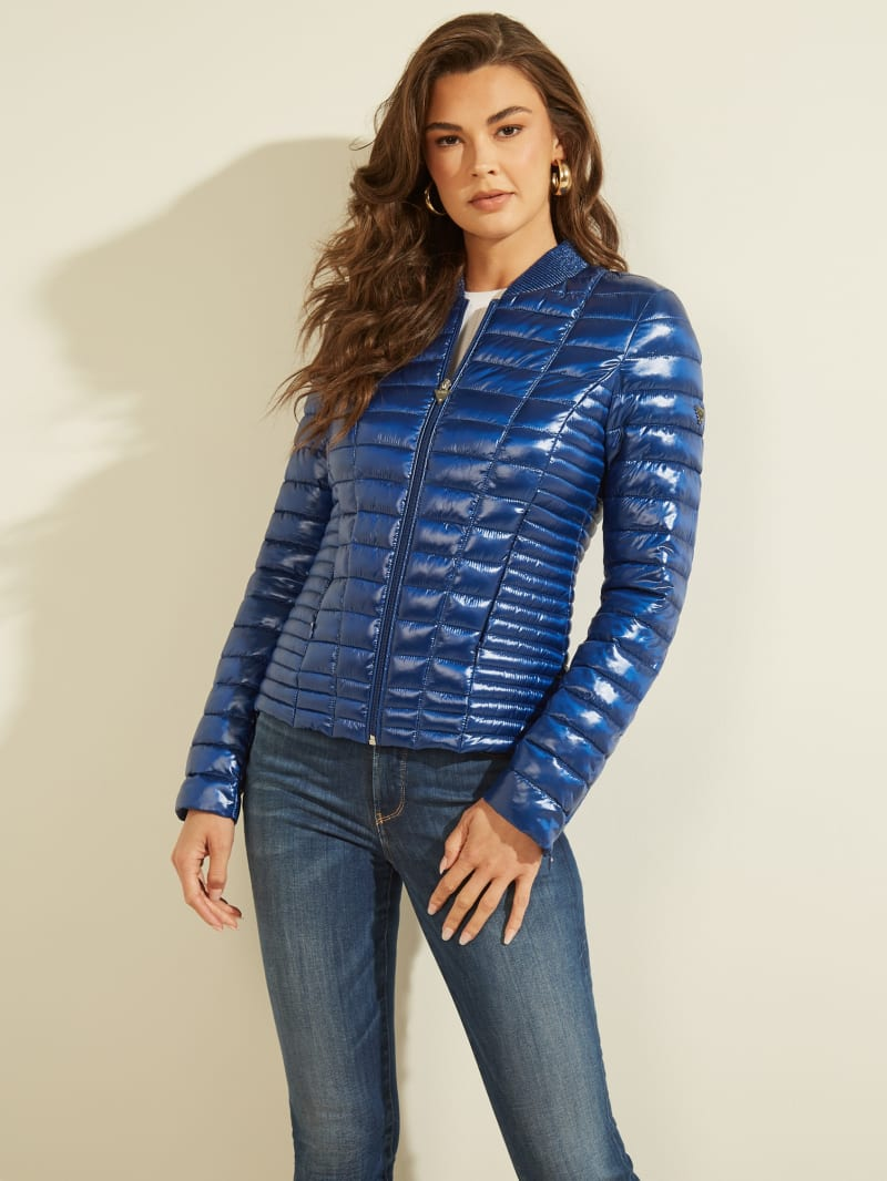 GUESS Eco Vera Quilted Puffer Jacket