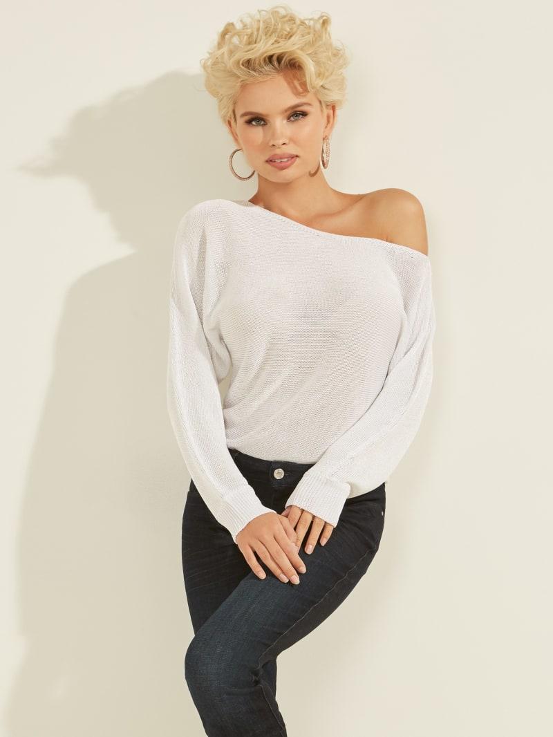 Catrina Metallic Sweater