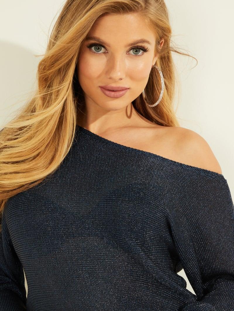 Catrina Metallic Sweater   GUESS