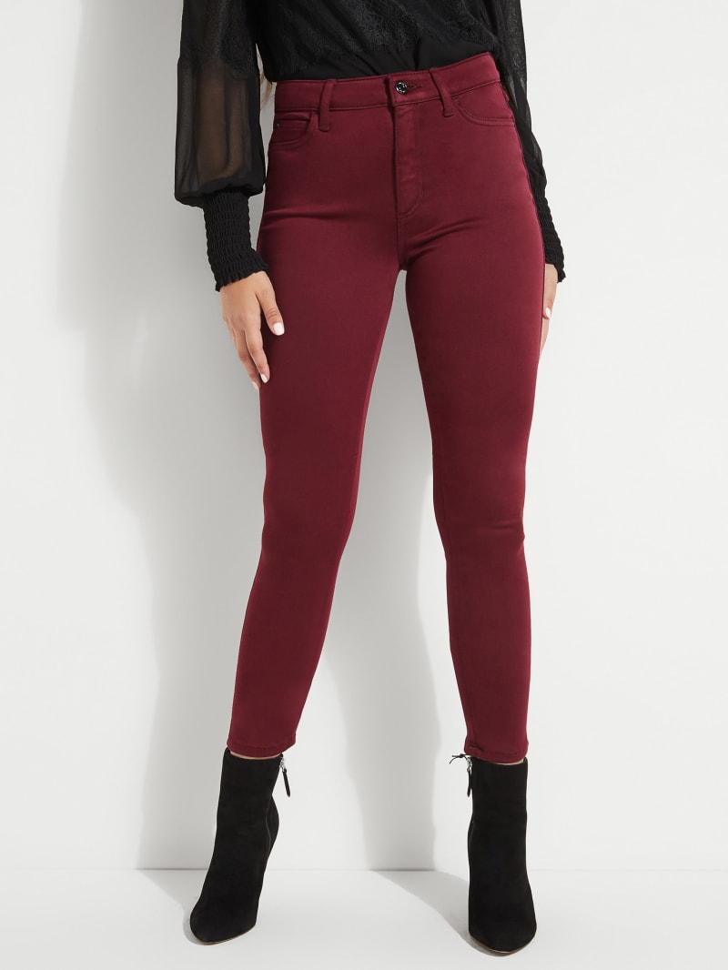 1981 High-Rise Sateen Skinny Jeans