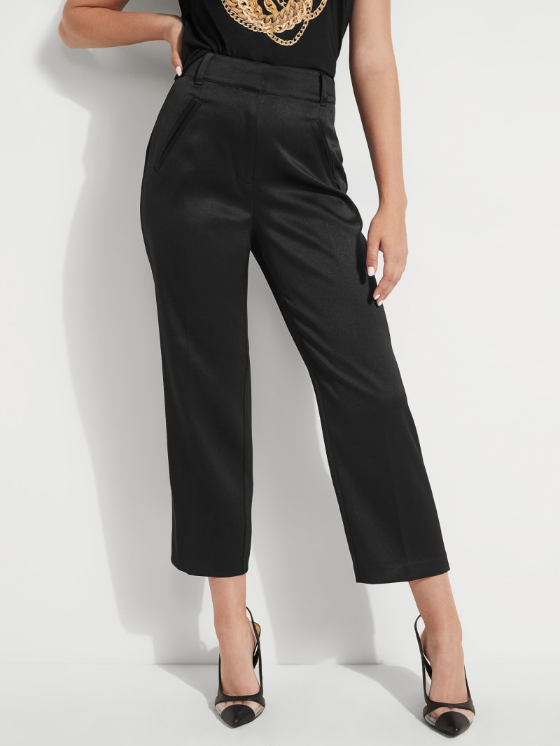 Deva Cropped High-Rise Trousers
