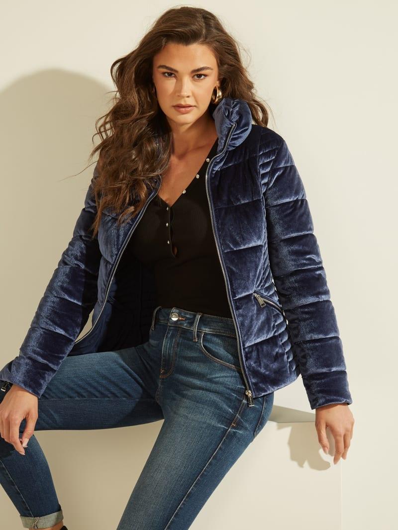 Teoma Velvet Puffer Jacket
