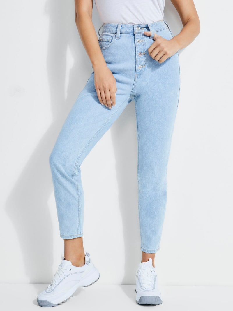 Super-High Rise '90s Skinny Jeans