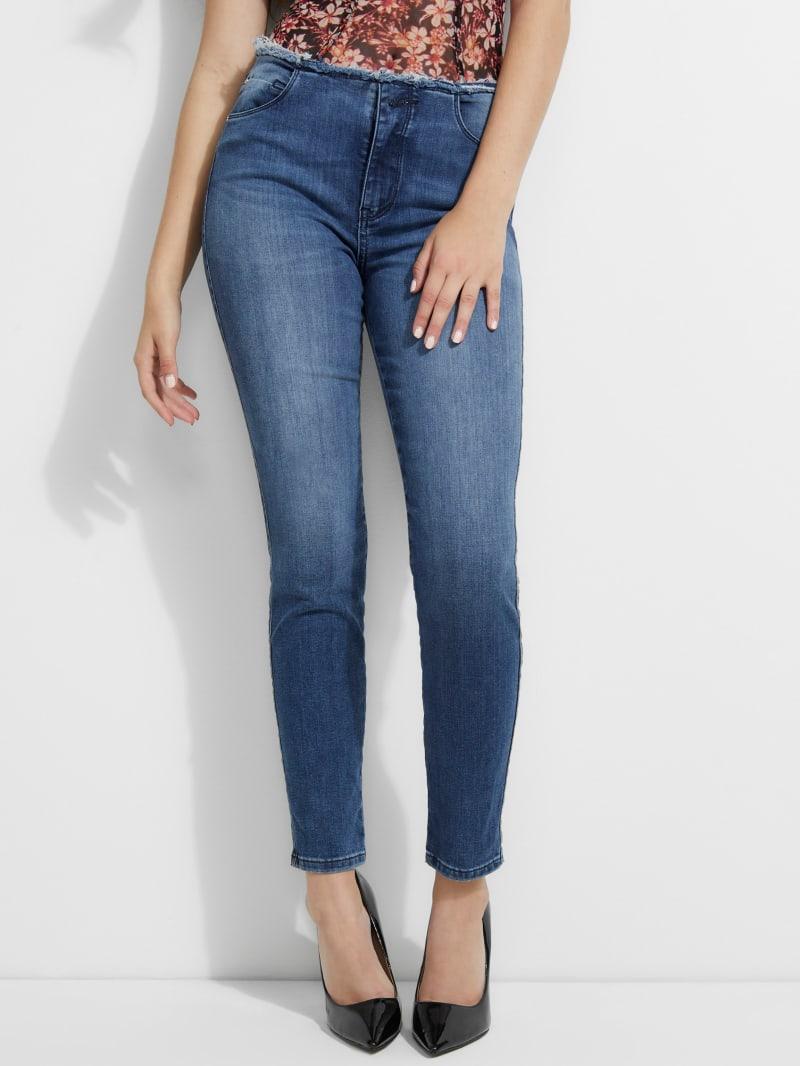 Frayed Sexy Curve Skinny Jean
