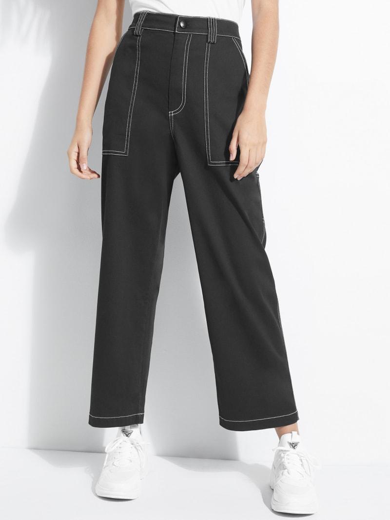 Amelie Wide-Leg Carpenter Pants