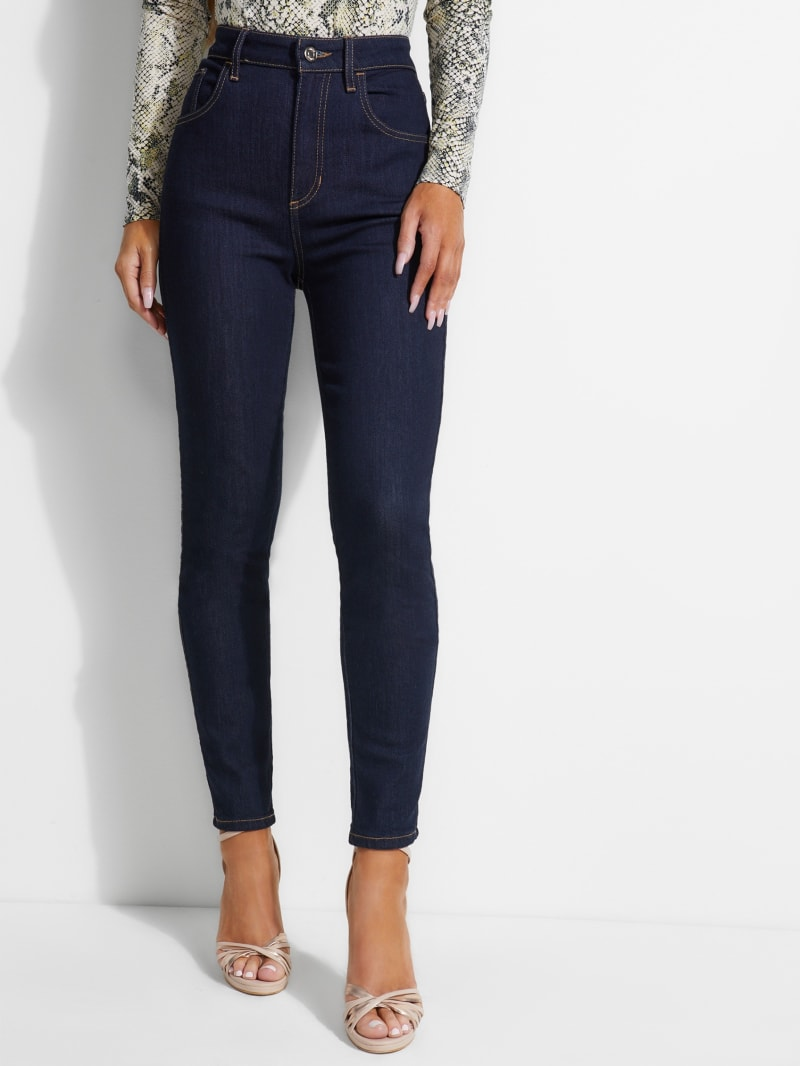 Soft Luxe Super-High Rise Jeans