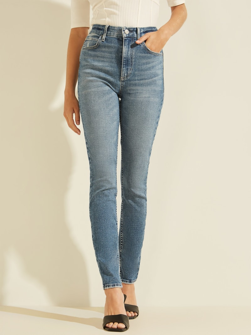 Eco Super-High Rise Icon Skinny Jeans