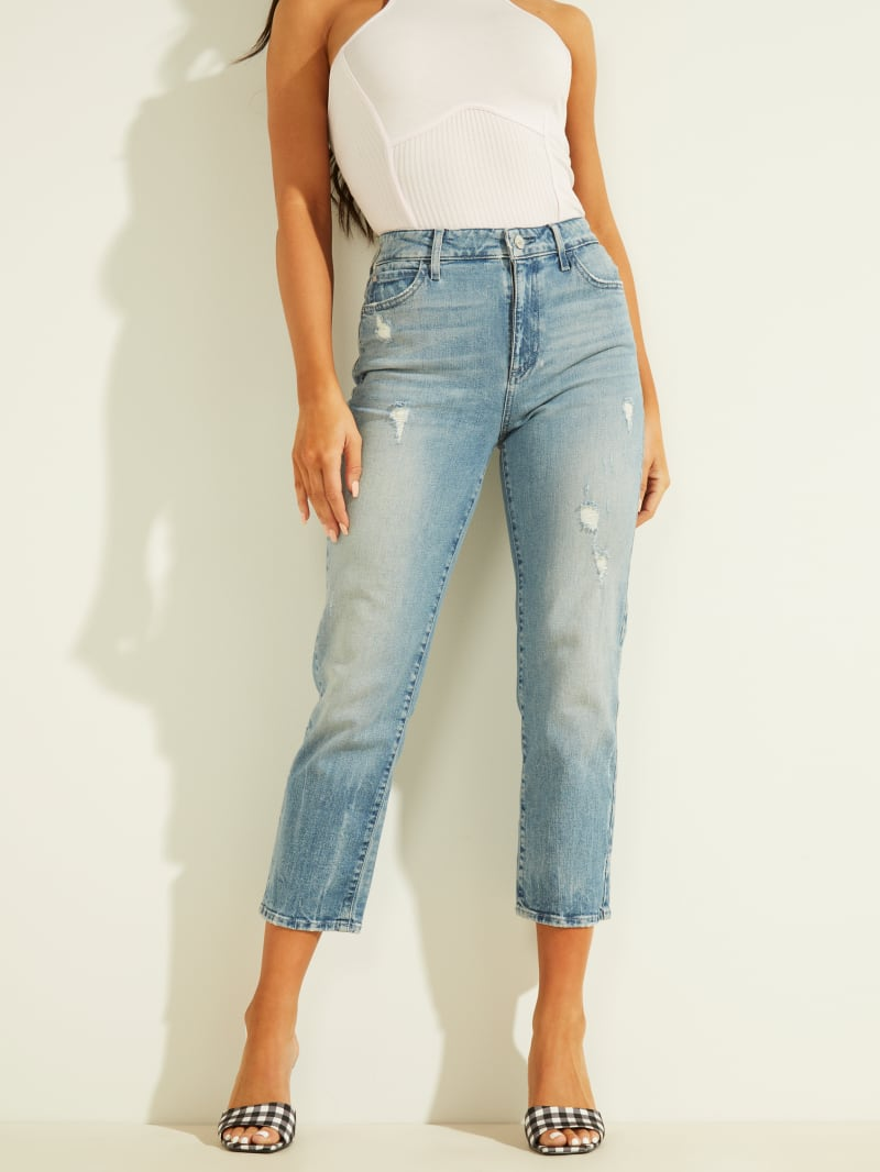 1981 Cropped Straight Jeans
