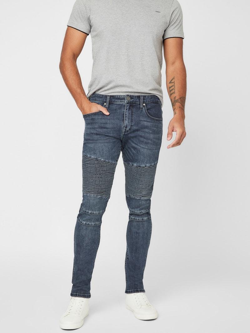 Raphael Moto Skinny Jeans