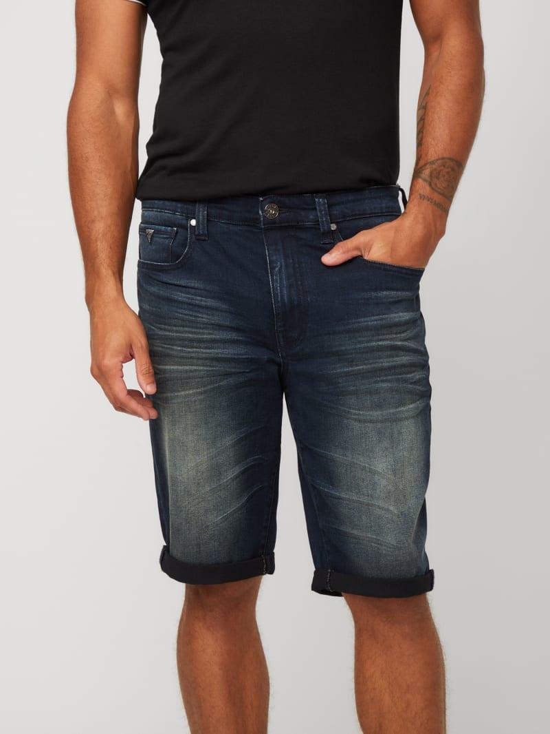Trenton Rolled Denim Shorts
