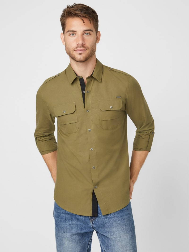 Ronnie Ripstop Long-Sleeve Shirt