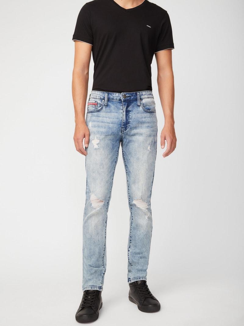 Vick Destroyed Skinny Jeans
