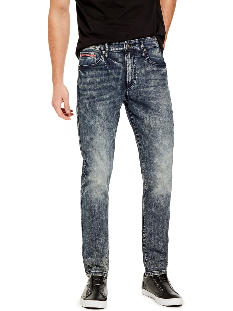 Teddy Faded Skinny Jeans