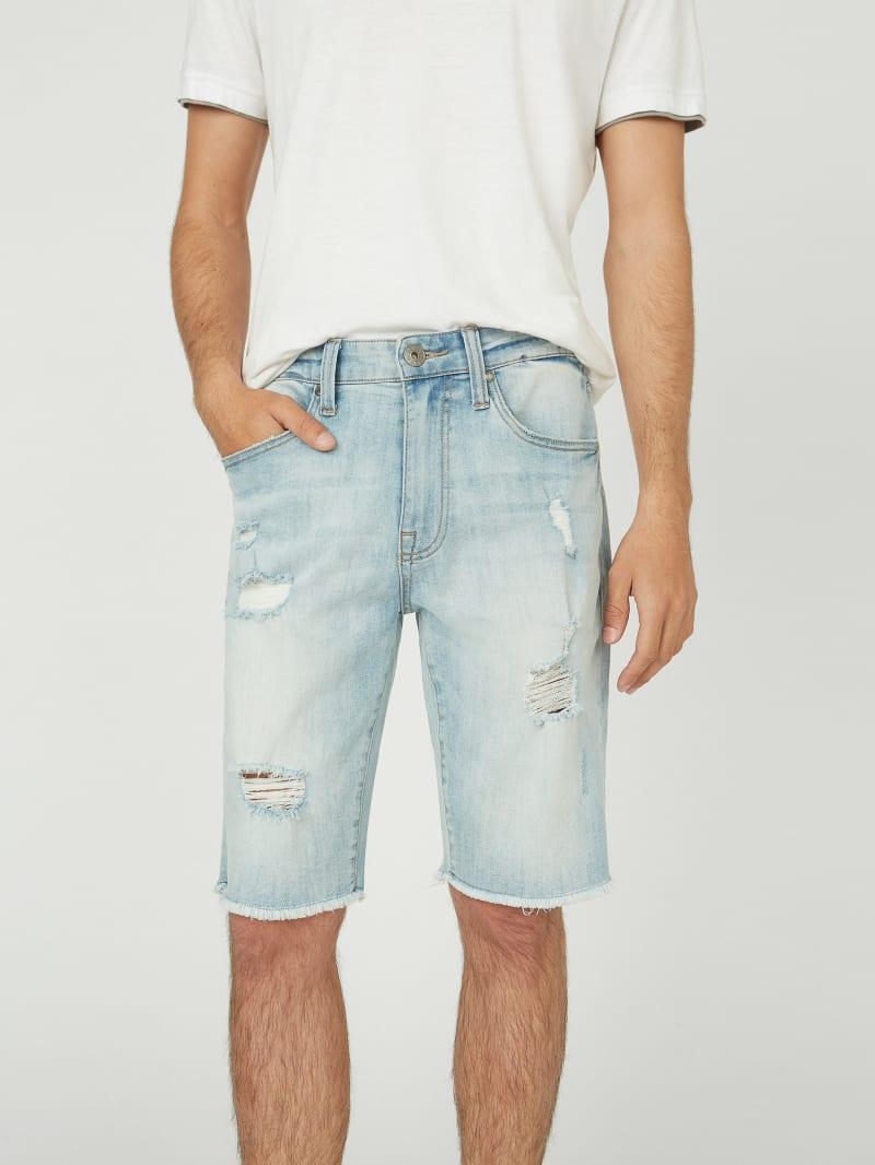 Clarke Straight Denim Shorts