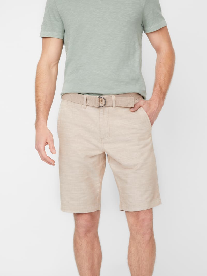 Conner Textured Woven Shorts
