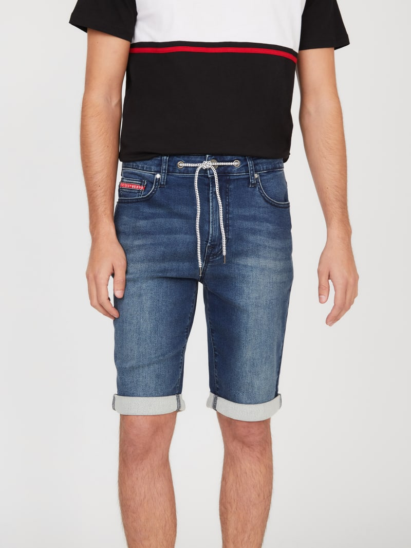 Lannister Stretch Denim Shorts