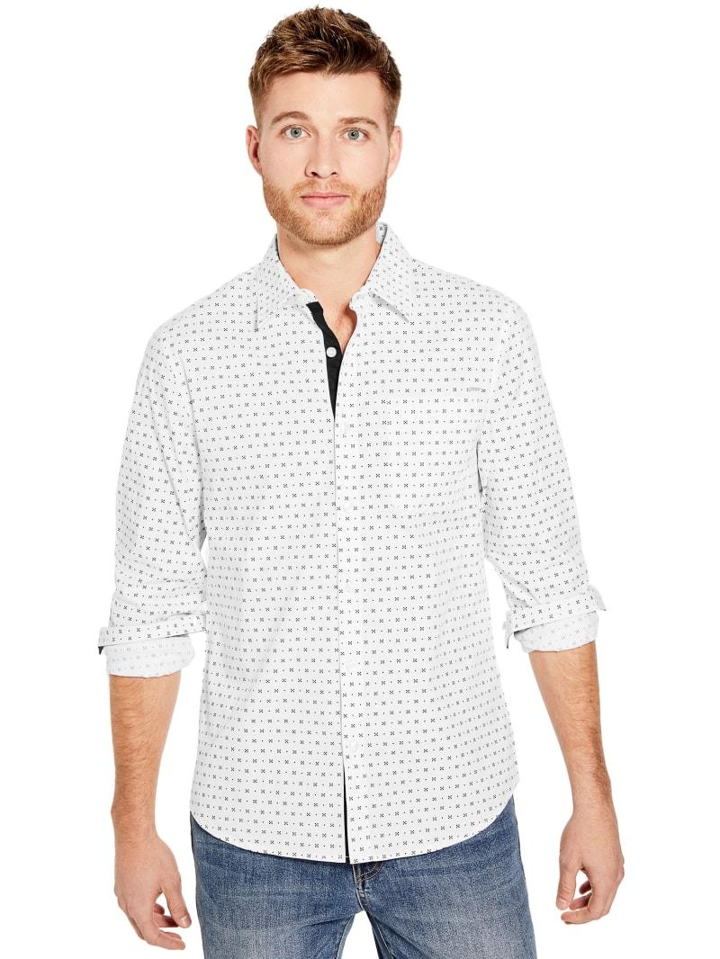 Choy Geo Print Long-Sleeve Shirt