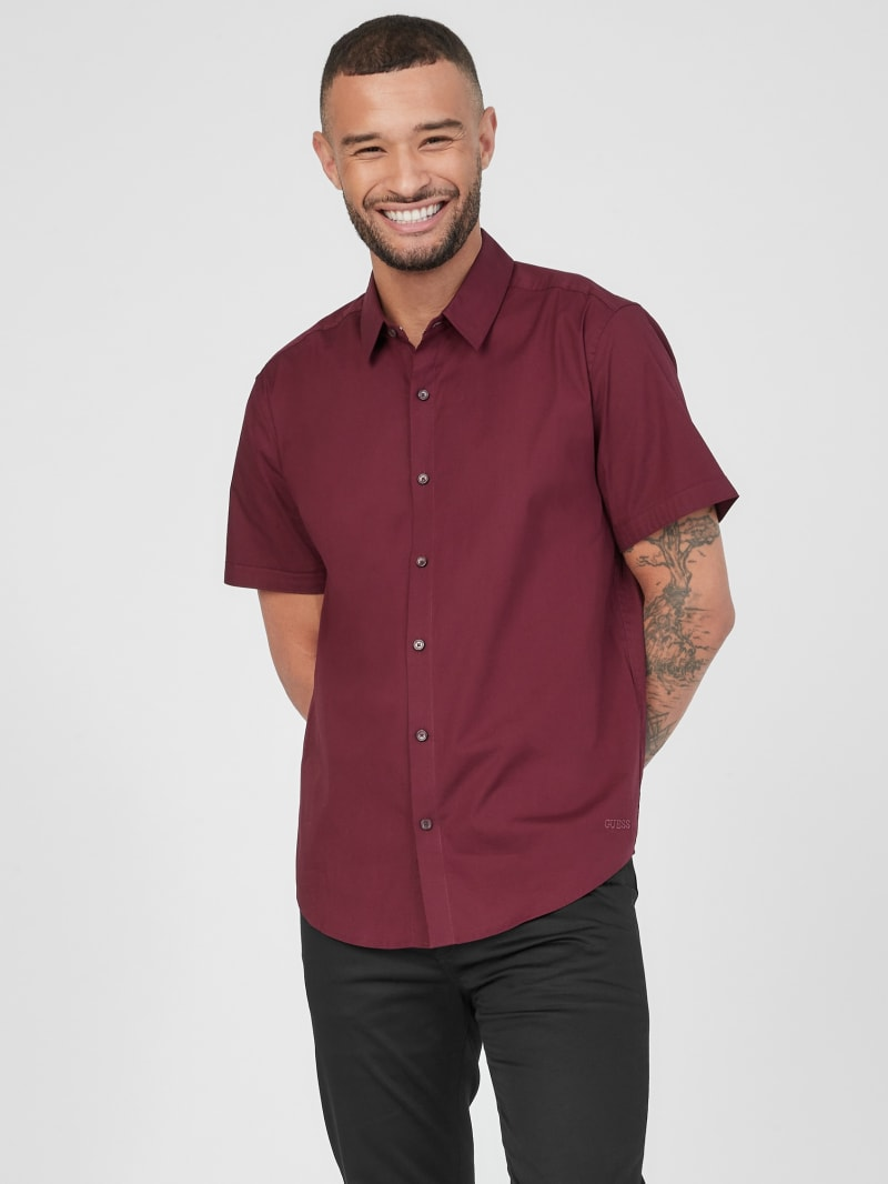 Darrow Slim Short-Sleeve Shirt