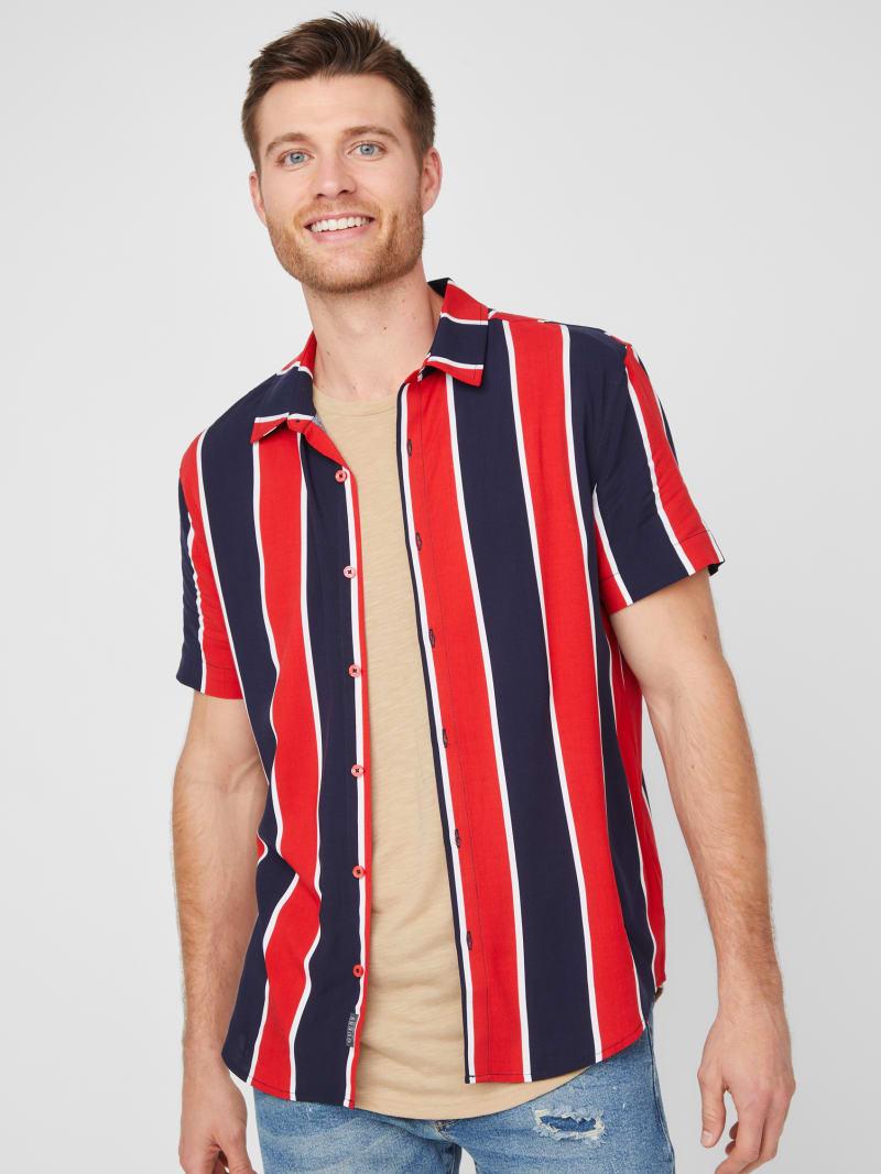 Jarius Striped Shirt
