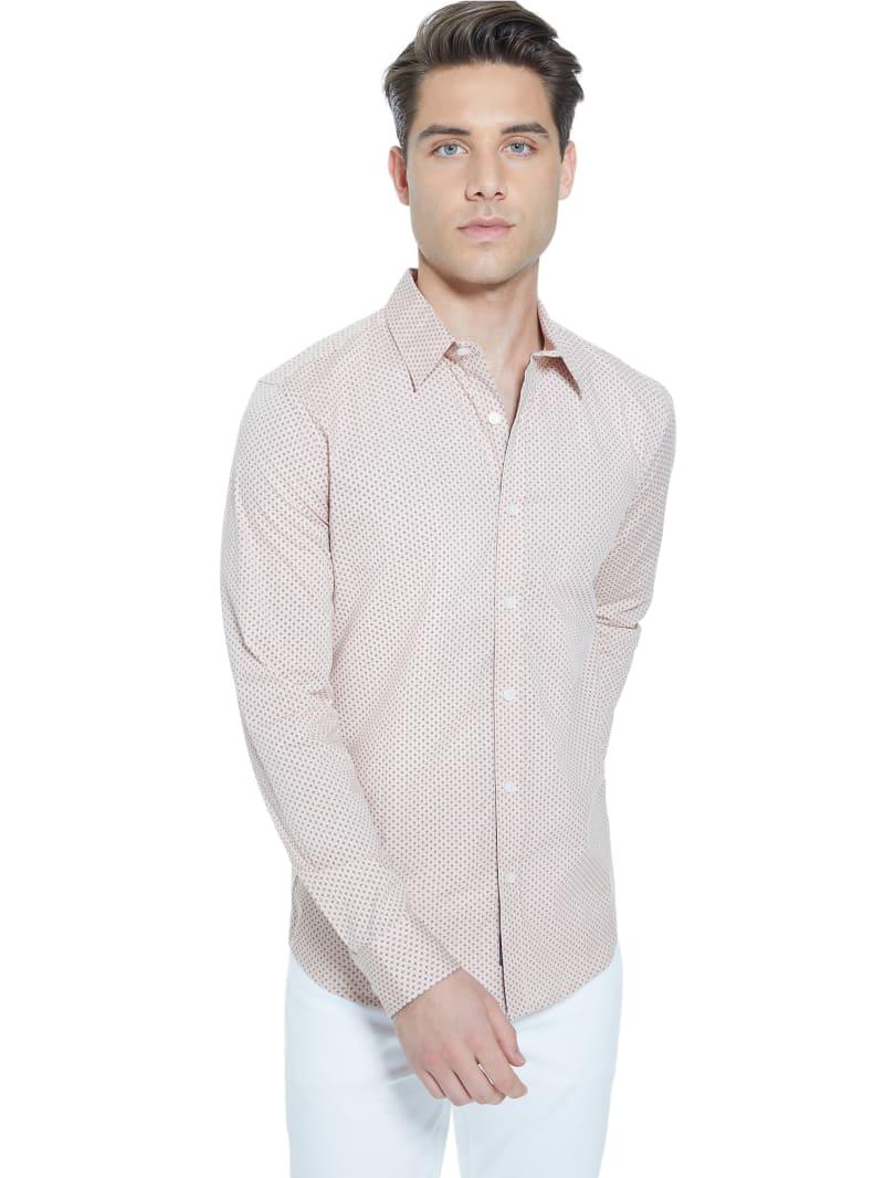 Van Geo Long-Sleeve Shirt