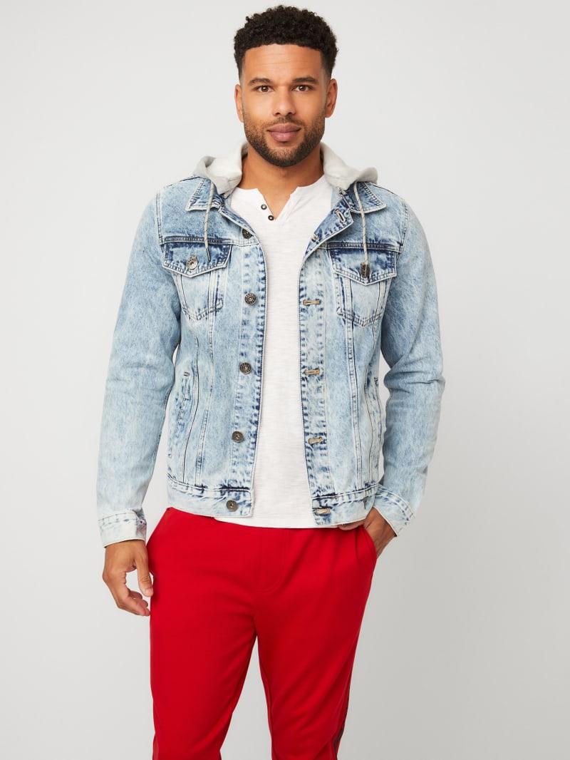 Harold Hooded Denim Jacket