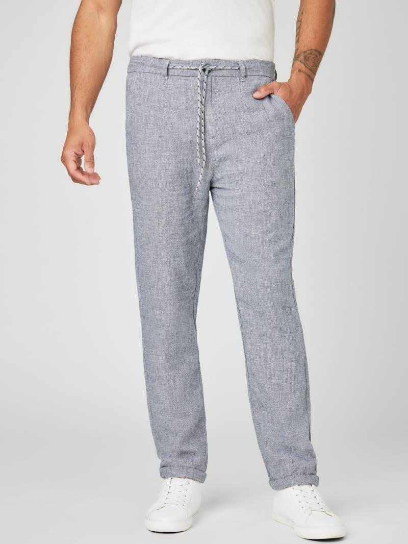 Taber Linen Drawstring Pants