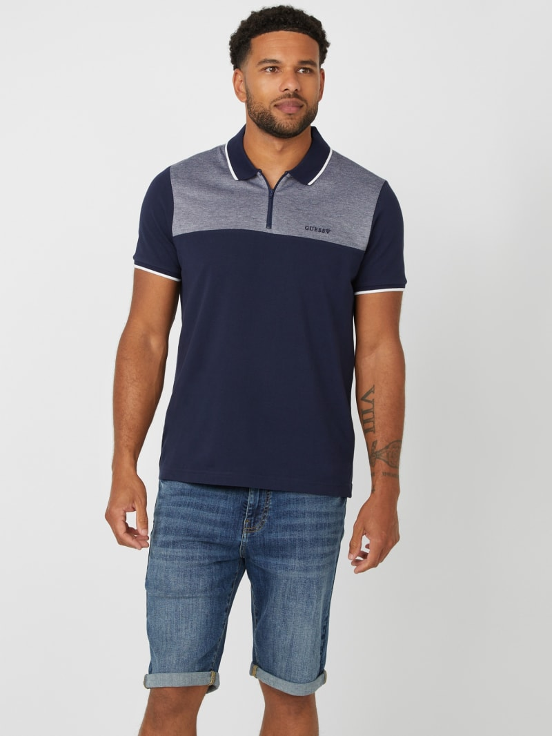 Rose Johnny Zip Polo