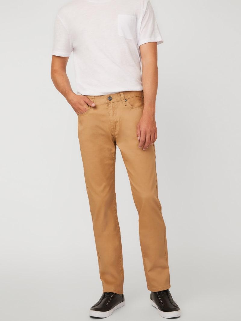 Harlem Slim-Fit Coated Jeans