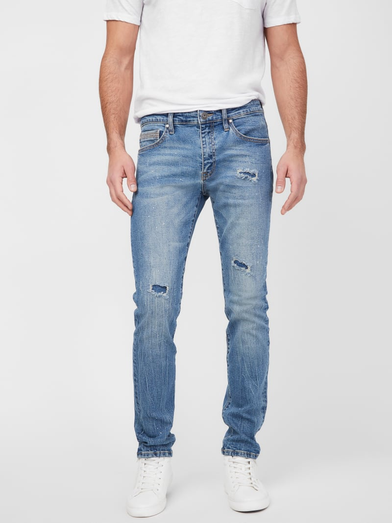 Kieran Distressed Skinny Jeans