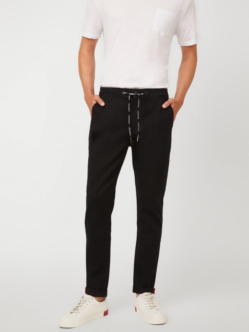 Logan Drawstring Skinny Jeans